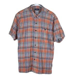 Patagonia Common Threads Button Front Plaid Shirt